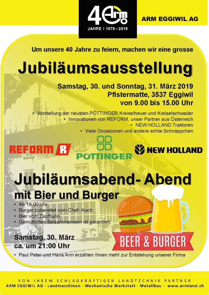 Ausstellung 2019 Arm Eggiwil Ag