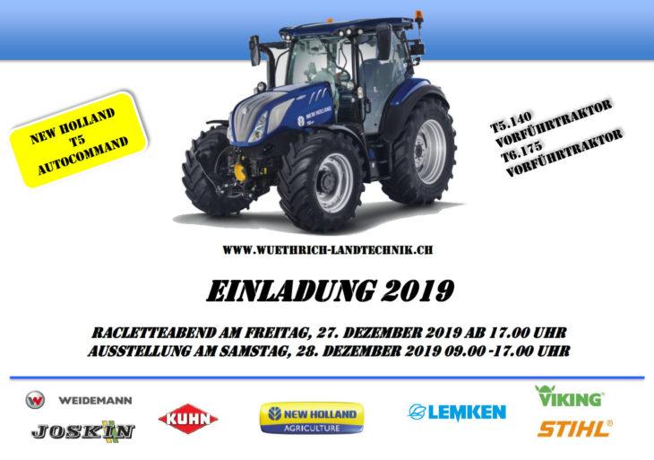 Ausstellung 2019 Wüthrich Münsingen