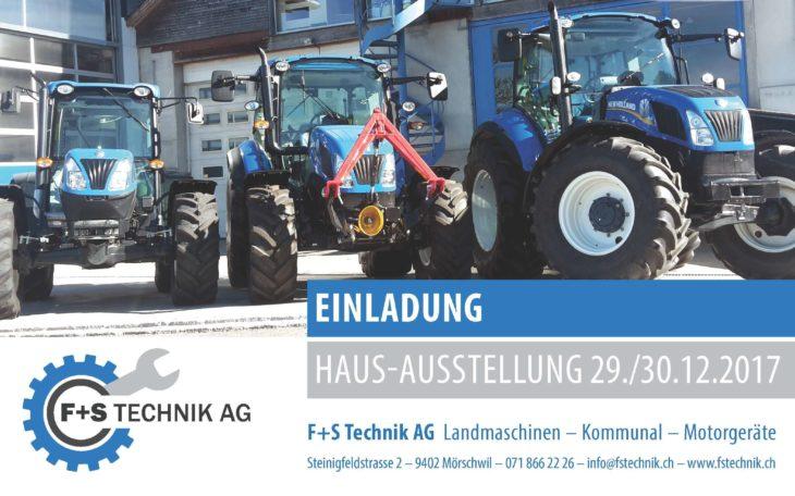 Hausaustellung F+S TECHNIK AG
