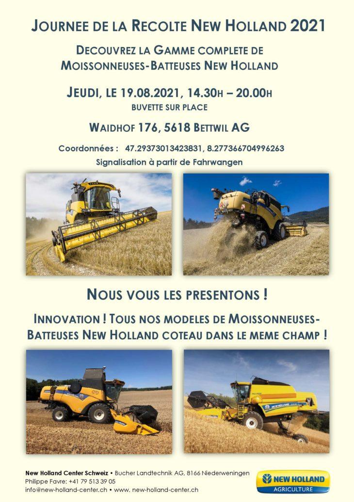 Journee De La Recolte New Holland 2021 19 08 21 14 30 20 00 H