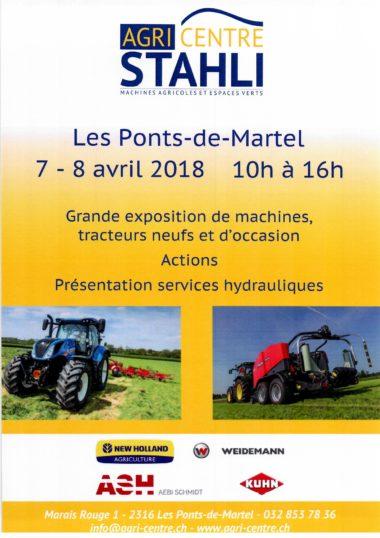 Flyer Expo 78 Avril Agri Centre Stähli 2 Seite 1