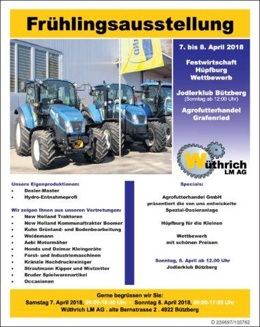 Flyer Wüthrich Lm Ag